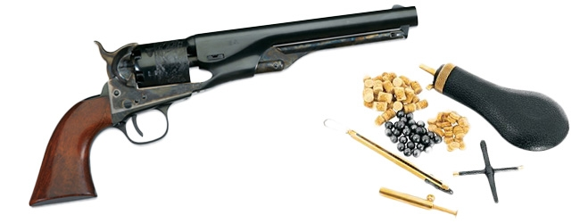 Black powder revolvers